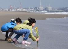 """日本纪念  """"3·11"""" 大地震五周年"""