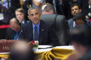 """奥巴马东盟峰会就南海非法仲裁案声称结果""""具约束力"""""""