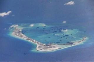 美媒称越南在 27 座南海岛屿上完成填海造地