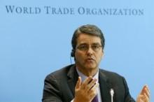 外媒 : WTO 总干事称全球有爆发贸易战风险