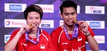 羽毛球世锦赛 : 国羽混双荣获世界冠军