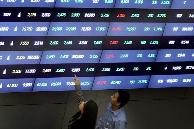 印尼市场周二开高  中国股市开低