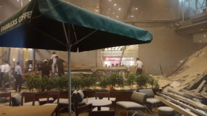 雅加达证券交易发生楼层坍塌事件 造成十多人受伤