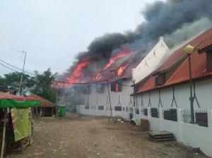 雅加达海事博物馆失火  暂无人伤亡