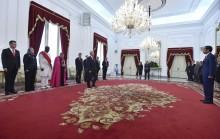 佐科威总统欢迎九个国家新任驻我国大使