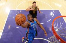 NBA 常规赛 9 日综述 : 湖人106-81 胜雷霆