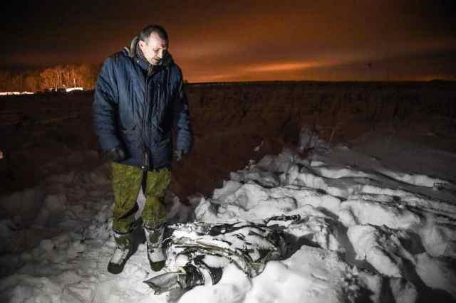 外媒 : 俄客机失事或因空速管结冰