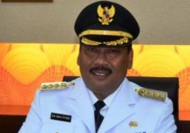 雅加达西区市长视察金德院寺庙新年准备