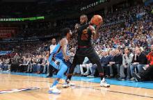 NBA  常规赛  14 日综述 :  骑士以 120-112 复仇雷霆