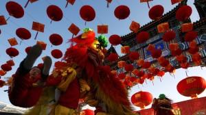 世界各国华裔欢腾迎接春节