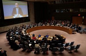 联合国就一份敦促叙利亚停火 30 天决议草案进行投票