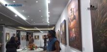 我国艺术家诺尔举行首个展        数十当代现实主义绘画亮相