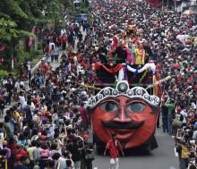 雅加达西举办元宵节佳年华会       体现我国多元文化亮丽色彩