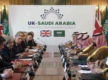 英国和沙特达成额达 650 亿英镑交易合作