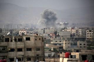 叙军方继续对古塔发动空袭       造成 23 平民死亡
