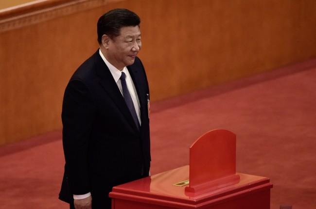 中国大会议通过国家主席连续任期宪法修正案     赞成率达到 99.8%