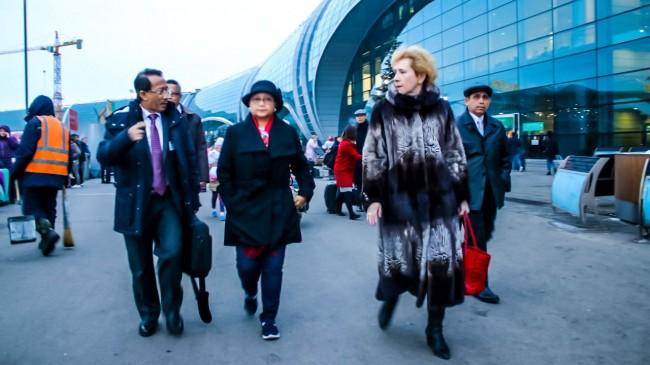 外长蕾特诺赴俄罗斯   将加强两国经济合作关系