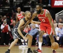 NBA 常规赛 13 日综述 : 马刺 93-109 不敌火箭    热火 99-115 开拓者