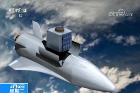 中国研发 空天飞机     能载人重复使用及运货