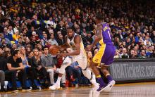 NBA 常规赛 : 勇士 117-106 胜湖人结束 2 连胜