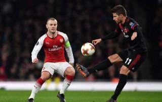 欧联杯  1/8 决赛 : 阿森纳总分 5-1 双杀米兰晋级八强