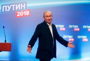 俄总统选举普京领先   习近平致电祝贺