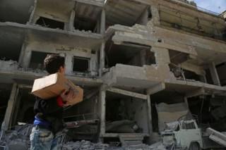 联合国 : 13 万叙利亚人离开东古塔