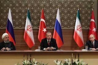 俄罗斯,伊朗和土尔其元首会晤谈叙利亚问题