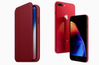 苹果正式发布限量版红色 iPhone 8