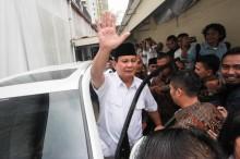 大印尼行动党总主席布拉波沃宣布参与 2019 年总统大选
