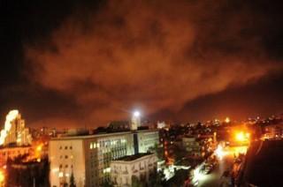外媒:西方国家对叙利亚军事设施实施打击