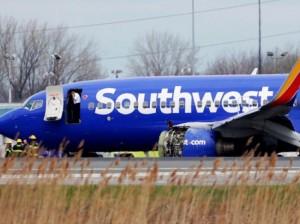 美国西南航空引擎故障致死后就老旧飞机加强检查