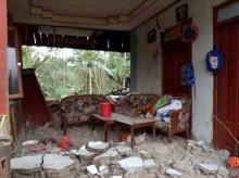 中爪哇班查内加拉周三发生 4.4 级地震      数千市民已疏散