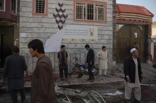 阿富汗喀布尔发生一起自杀爆炸事件      57 死中有妇女儿童
