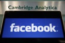 外媒 : 剑桥分析称收集数据没有违反脸书政策