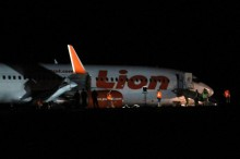 我国狮行一架飞机哥伦打洛机场着陆后弹起    无人伤亡