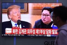 特朗普称与金正恩会晤可能延迟