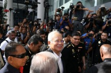 马来西亚前总理纳吉布再接受贪腐案调查