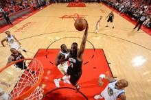 NBA 西部决赛 : 火箭胜勇士总比分 3-2 领先
