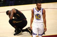 NBA 总决赛:勇士队 4-0 卫冕冠军