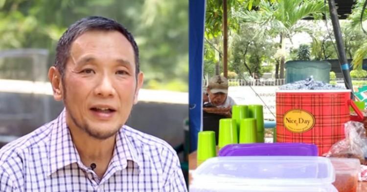 国内一名穆斯林华裔为贫民提供廉价食物    相信上帝会赐福于他