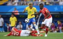 世界杯 : 巴西 1-1 瑞士    德国不低墨西哥