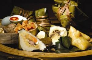 全球华人庆祝端午节 : 粽子必不可少的传统美食