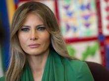 特朗普夫人美拉妮娅参观德州移民拘留所