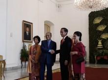 佐科威茂物宫迎接来访马哈蒂尔总理
