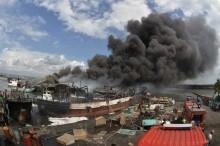巴厘岛 39 艘渔船着火事件无人员伤亡      起因或电流短路