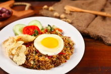 羊肉炒饭做法简单   羊肉含蛋白质能增加体质