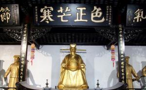 走遍中国合肥包公园纪念北宋清官包拯