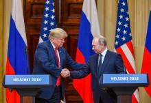 特朗普普京会晤  :   俄准备改善与美关系