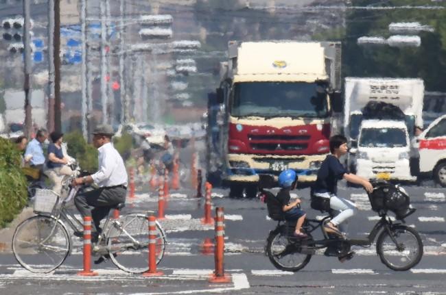 日本热浪造成最少 14 人死亡    高温飚到 40 度